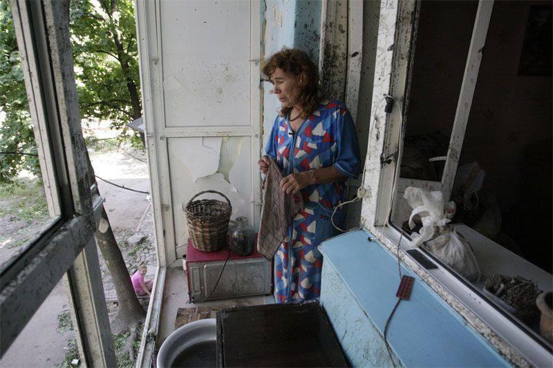 Les forces de sécurité ukrainiennes ont bombardé des écoles, des bâtiments résidentiels et l'administration diocésaine à Gorlovka