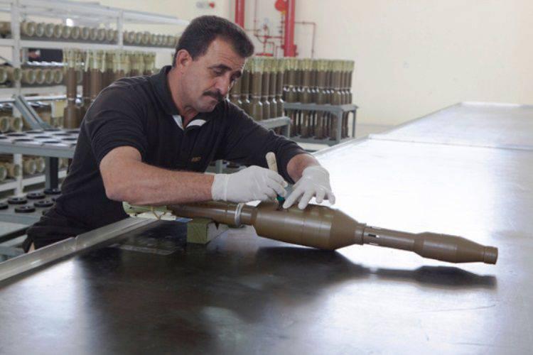 RFはRPG-32複合体の組み立て用部品をヨルダンに供給する