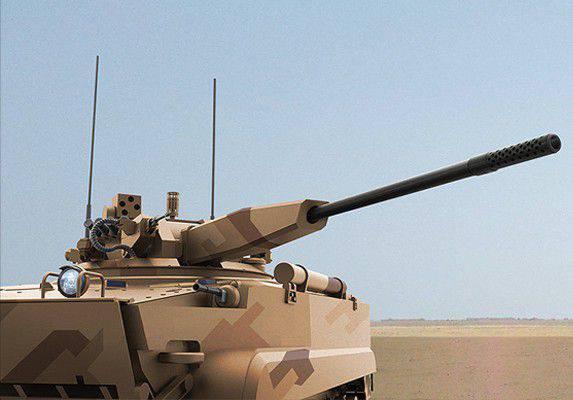 """Il primo spettacolo della """"Derivazione"""" di BMP-3 con il modulo di combattimento AU-220M"""