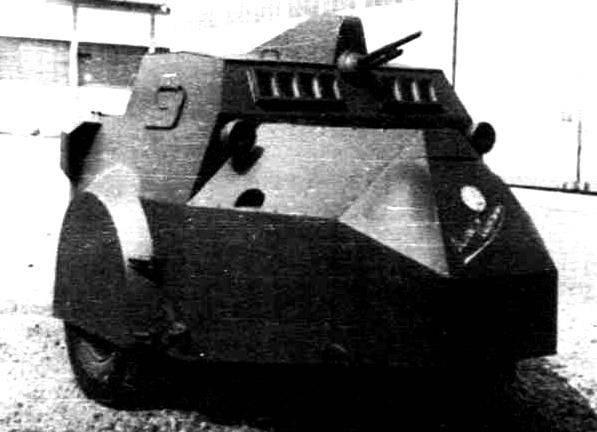 Zırhlı araç Vespa (İtalya)
