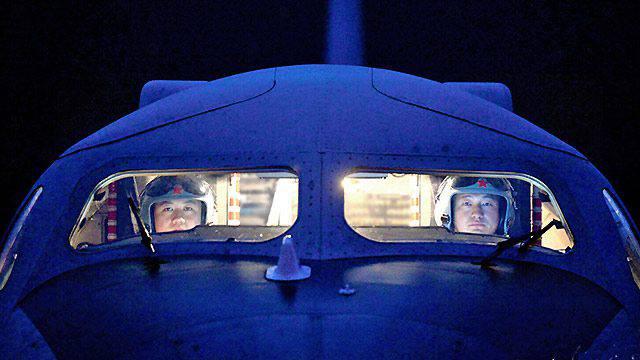 Reportage photo de la division de bombardiers 10-th PLA Air Force