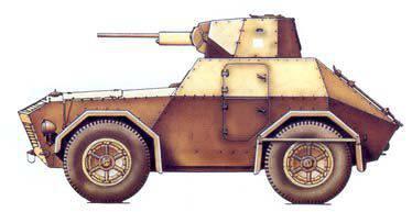 장갑차 SPA-Viberti AS43 (이탈리아)