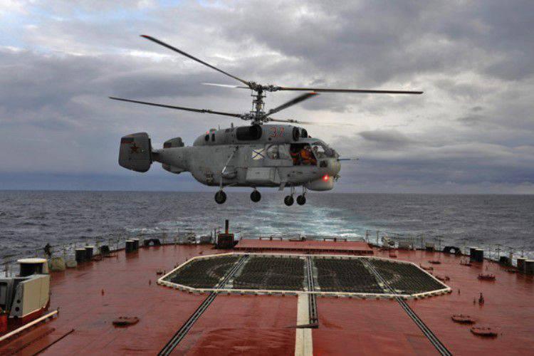 러시아 연방에서는 근본적으로 해군 항공기 용 헬리콥터가 개발 중이다.
