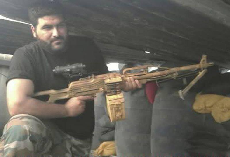 Dalla Russia con amore. Mitragliatrici siriane Pecheneg