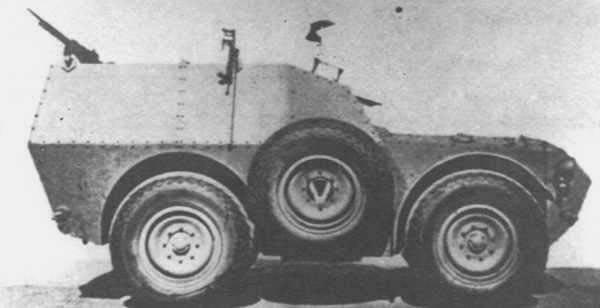 Transport de troupes blindé FIAT-SPA S37 (Italie)