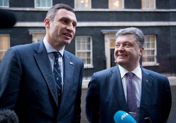 党クリチコとPoroshenkoが団結
