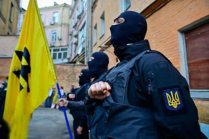 外国の傭兵はすでにキエフで集会しています