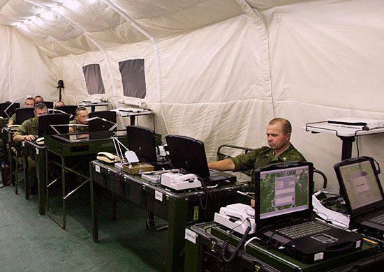 Rusya Federasyonu'ndaki Silahlı Kuvvetlerin iletişiminin öğretileri Rusya ve Abhazya'da yapıldı.