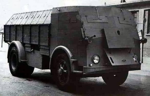 Zırhlı personel taşıyıcı FIAT 665NM Protetto (İtalya)