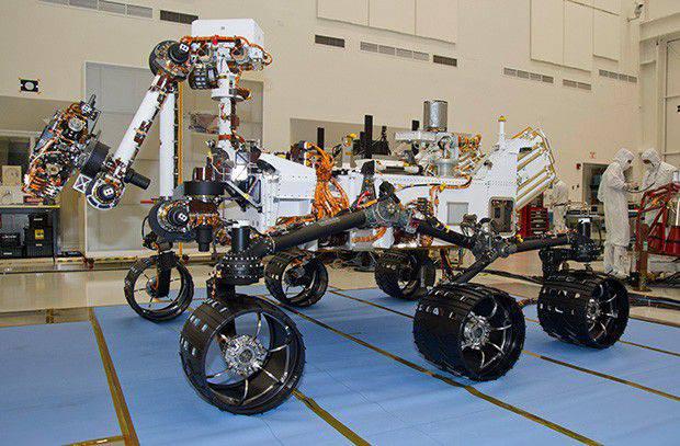 Russians on Mars