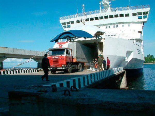 RFは、クリミア半島を通じたフェリーと鉄道の直接運航に関するウクライナとの合意を非難した。
