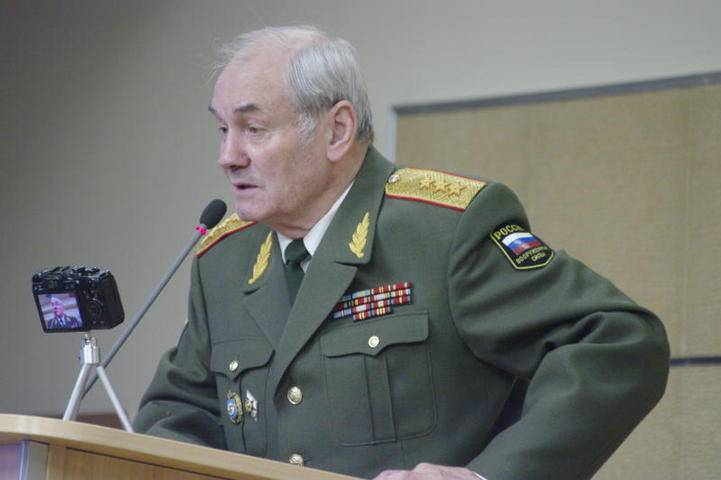 "Colonel-General L.G. IVASHOV answers the questions of the chief editor of ""Soviet Russia"" V.V. CHIKINA"