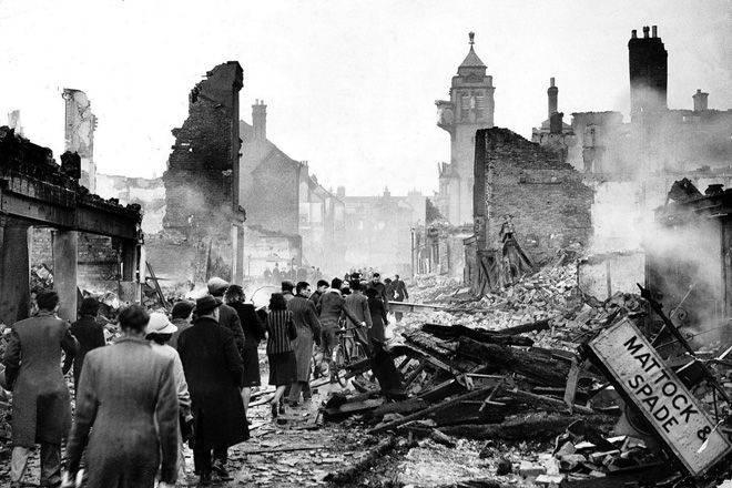 ドイツの英米爆撃戦略