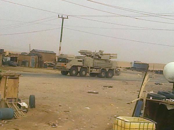 """Anlık görüntüler ZRPK """"Pantsir-С1"""" Yemen bölgesinde BAE"""