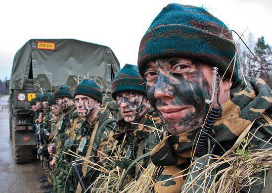 Des exercices d'unités de reconnaissance des forces armées de la Fédération de Russie ont eu lieu en Abkhazie et sur le territoire du district militaire oriental