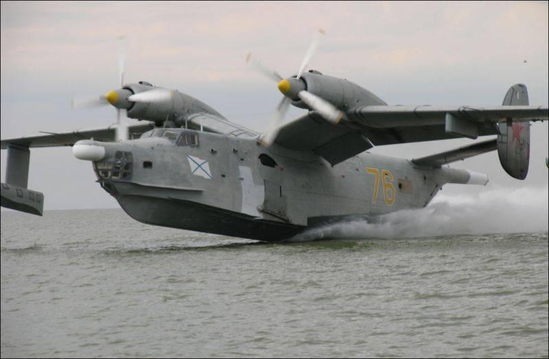 Самолёты-долгожители. Бе-12