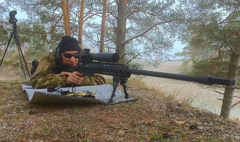 «Размазать» снайпера с 2-х км: винтовка DXL-4 не оставит врагу шансов