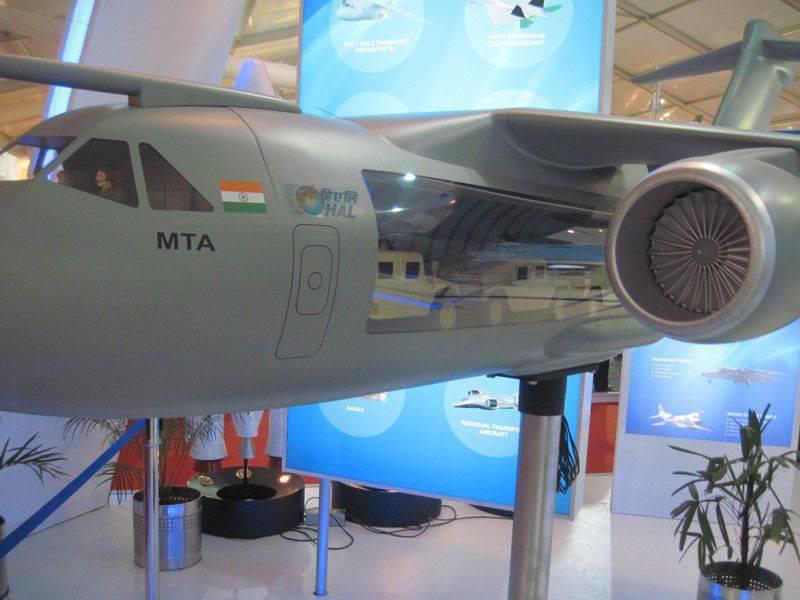 La Russie et l'Allemagne ont discuté du développement d'un complexe de communication pour l'avion russo-indien MTA