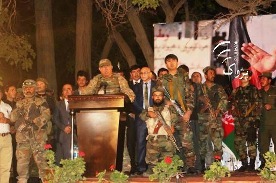 도스 탈 로프 (Dostum) 아프가니스탄 부통령은 이슬람 국가 무장 세력과의 전쟁에서 카불을 돕기 위해 모스크바에 요청했다.