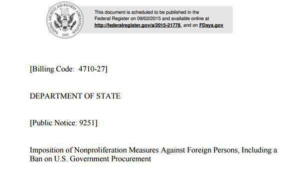 Aziende non solo dalla Russia, ma anche dalla Cina, dagli Emirati Arabi Uniti e dalla Turchia sono entrate nella lista delle sanzioni di Washington