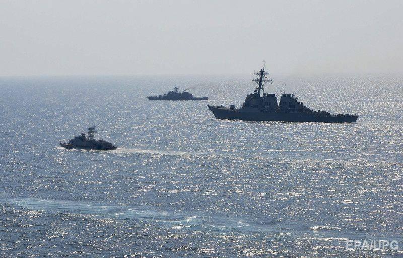 Manevralarda Sea Breeze Ukraine, 2 gemisi ve bir uçak gönderdi