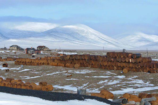 Arctic territories of the Russian Federation are cleared of technological waste