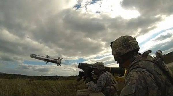"""""""Javelins"""" des Etats-Unis. De l'Estonie à l'Ukraine? .."""