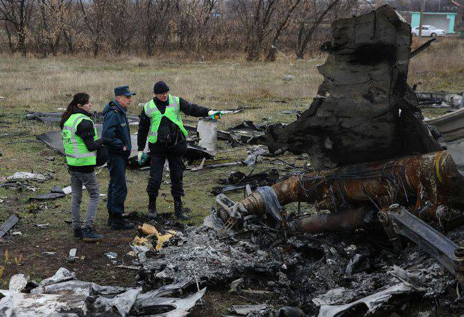 "Dutch investigators decided to return to Donbass for fragments of the Malaysian ""Boeing"""