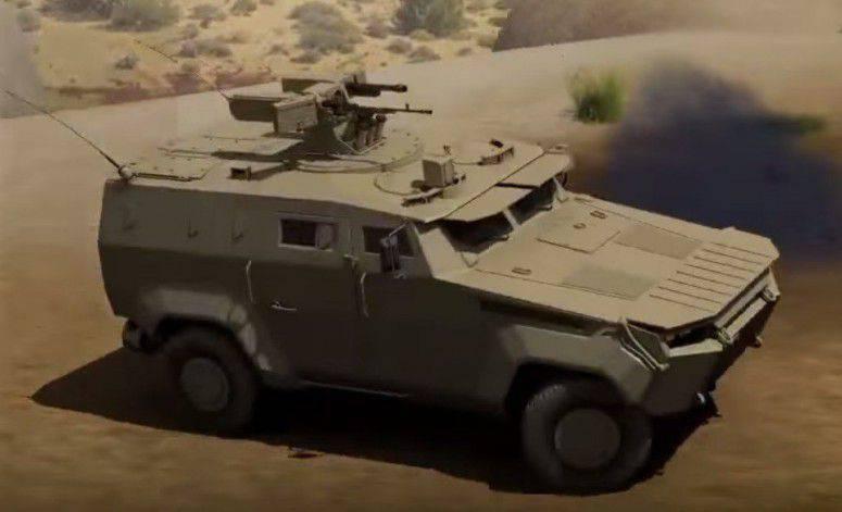 装甲車「トリトン」:ウクライナの防衛産業の次の「有望な」開発