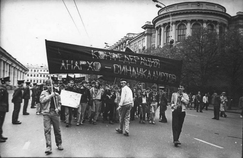 La perestroïka anarchiste. Comment les groupes anarchistes légalisés en URSS