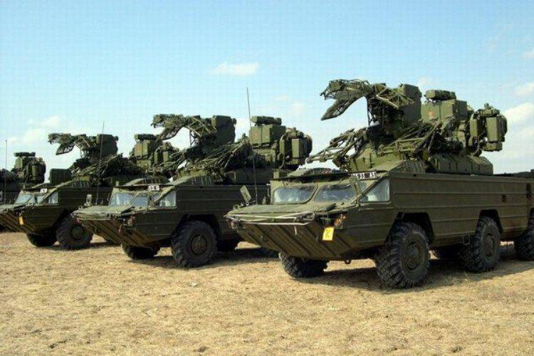 In the LC, there was a training of air defense units