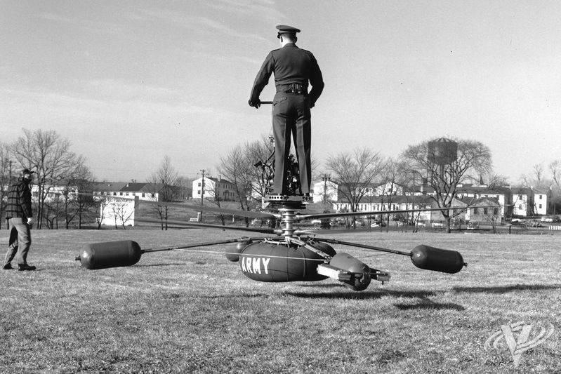 "Plate-forme volante ""De Lackner HZ-1"""