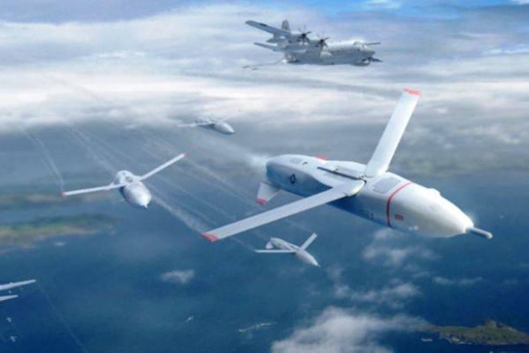 В США начали разработку БПЛА, которые будут летать стаями