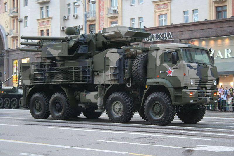 브라질은 러시아에서 PZIR-С1 ZRPK를 많이 구매할 준비가되어 있습니다.