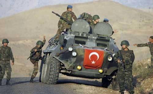 터키 군, 이라크에서 토지 작전 개시