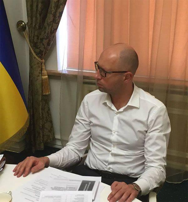 Il capo della RF IC: Yatsenyuk nel mezzo di 90-x ha partecipato alla tortura e alle esecuzioni di soldati russi in Cecenia