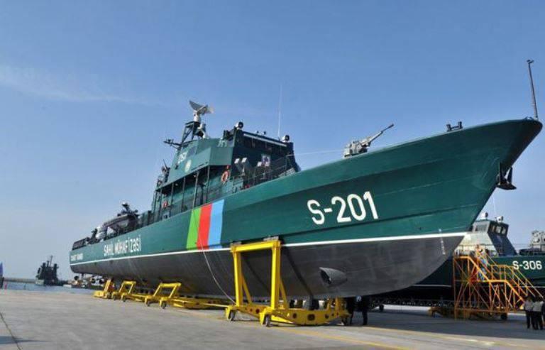 Costruzione della prima nave di scorta del progetto israeliano completata in Azerbaigian