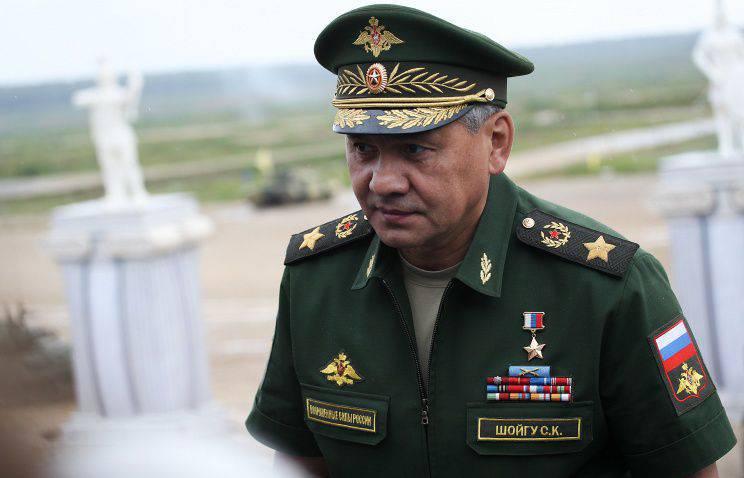 Shoigu: en coopération avec des scientifiques du ministère de la Défense va accélérer la modernisation des armes russes