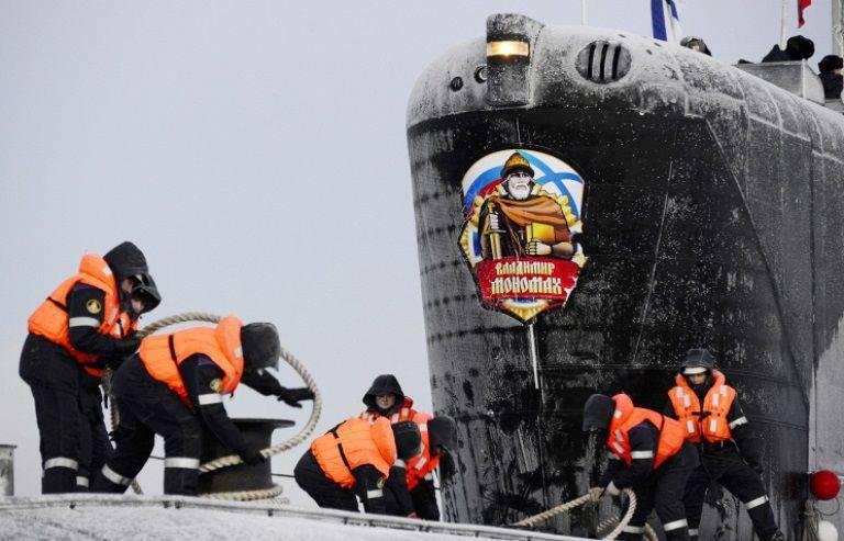 владимир мономах подводная лодка