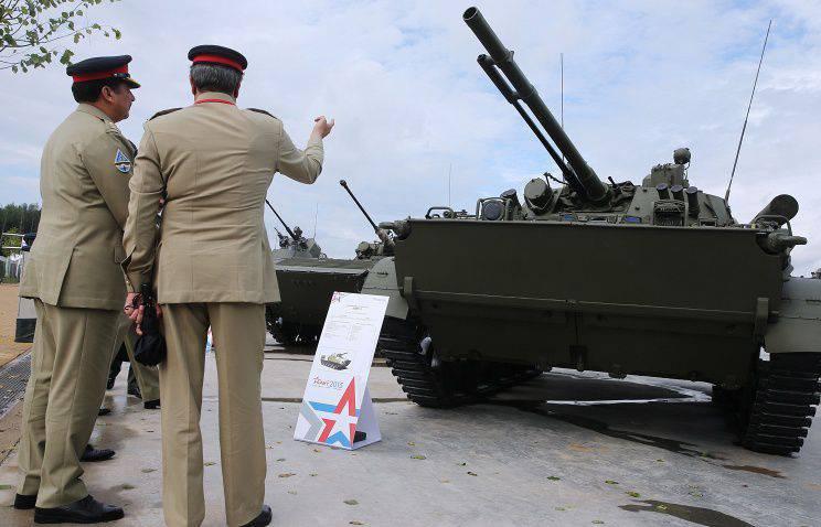 아제르바이잔 BMP-3의 공급 계약은 2016에서 완전히 이행 될 것입니다.