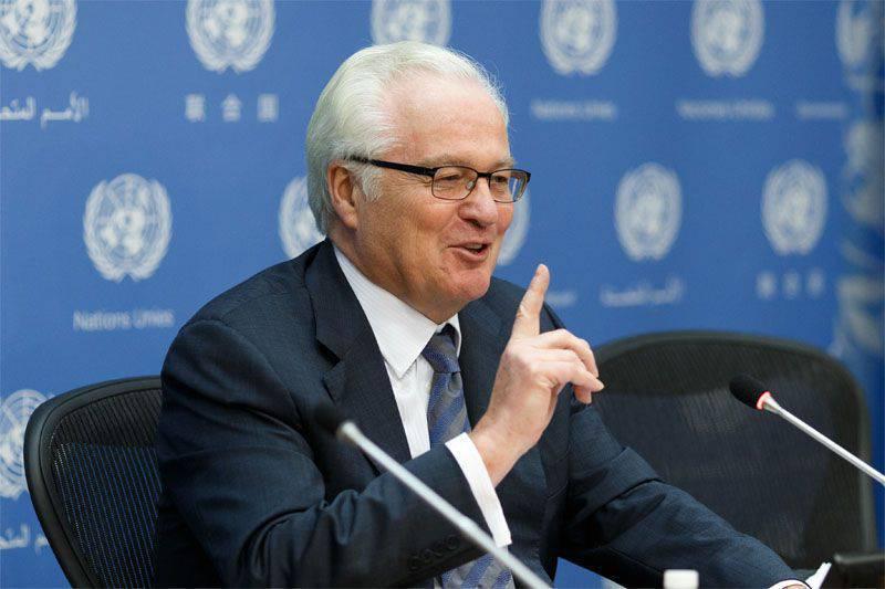 Vitaly Churkin ha espresso la speranza che gli specialisti russi si uniranno alla missione per indagare sui casi dell'uso di armi chimiche in Siria