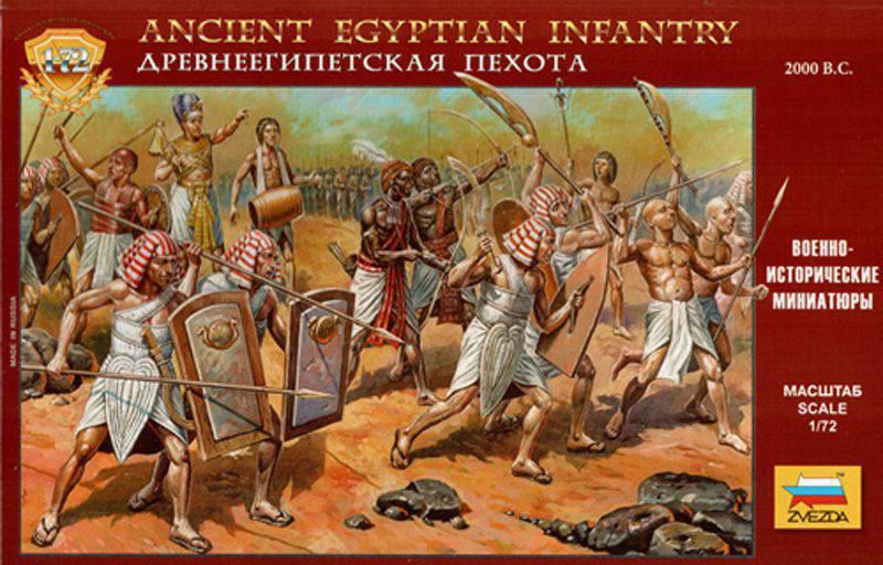Оружие и доспехи Древнего Египта