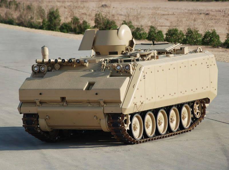 Turkey modernizes Saudi BNR M113
