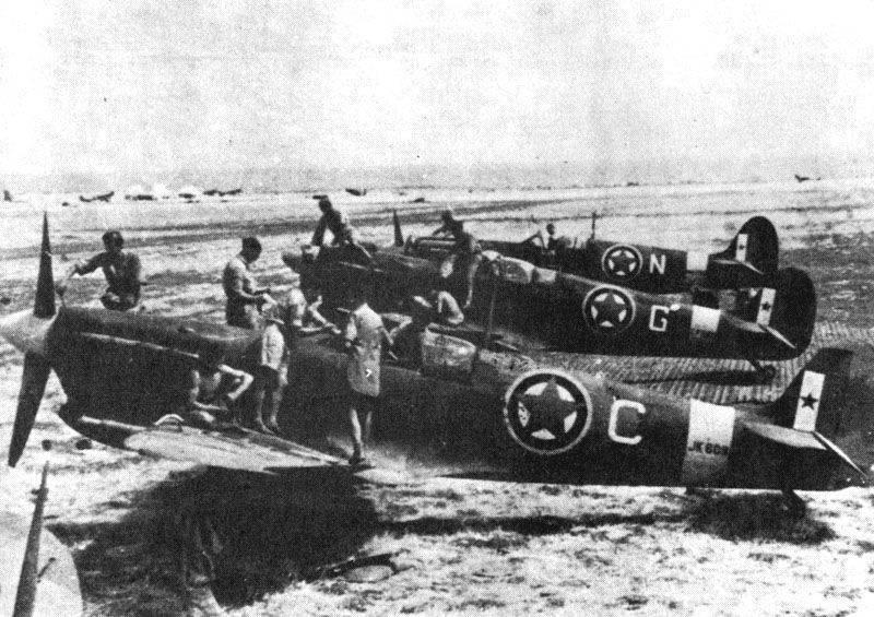 Spitfires yougoslaves, année 1945