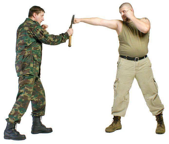 Sapper shovel for urban self-defense (part 2)