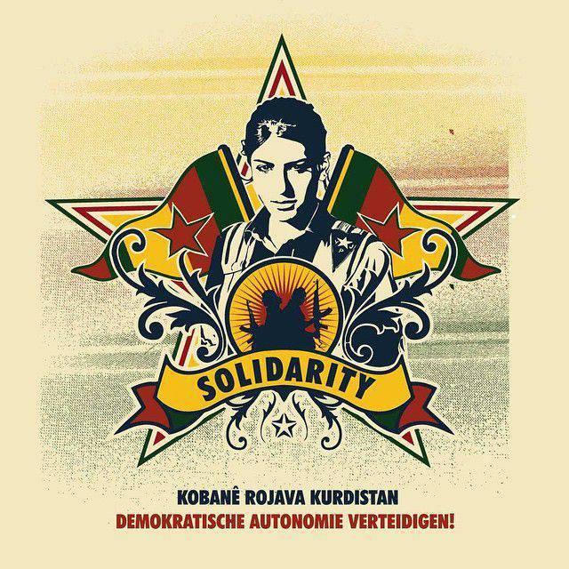 Rozhava - das Land der Sowjets. Wie kämpfen syrische Kurden und bauen eine neue Welt auf?