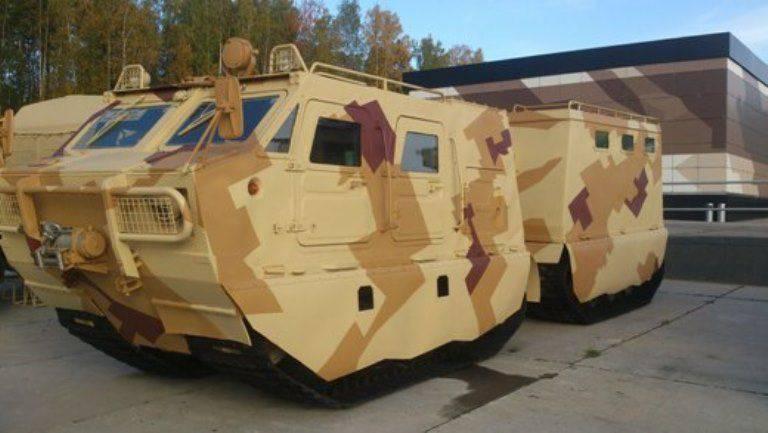 ニジニ・タギル展DT3PM装甲トランスポーター