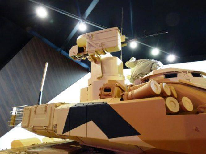 Nuova installazione di mitragliatrice sul serbatoio T-90MS