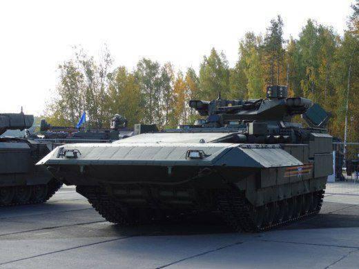 """BMP T-15 """"आर्मटा"""" की प्रस्तुति निज़नी टैगिल में हुई"""