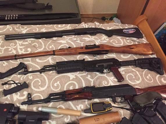 AvakovがMosinのライフルを使ってみた?